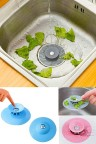 2-Stage Touch Sink Spigot 2 Silicone Sink Drain Stopper